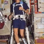 Astronauta estadounidense participará en una maratón… desde el espacio.