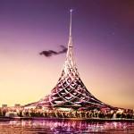 """""""La Isla de Cristal"""": el edificio más grande del mundo se construirá en Moscú"""