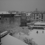 Londres bajo la nieve