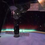 Volando a través de la aurora a 28.000 kmh