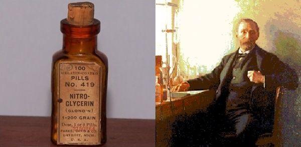 nitroglicerina y alfred nobel