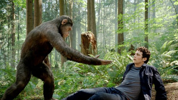 Fotograma de la película Rise of the Planet of the Apes