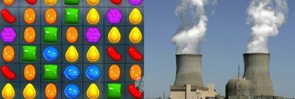 candy-crush y reactor nuclear