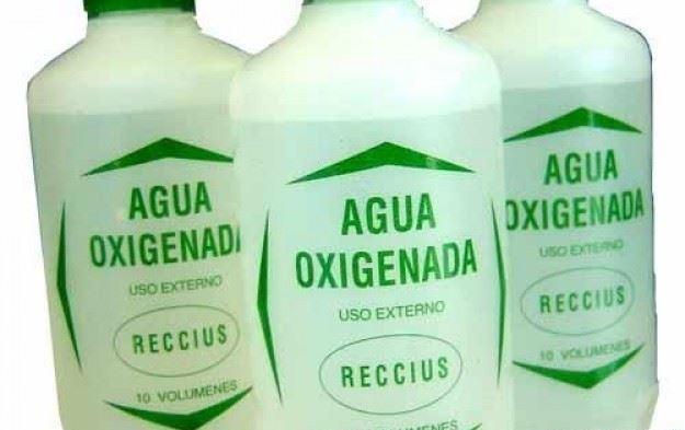 botellas agua oxigenada
