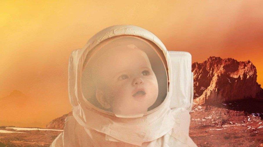 bebé en Marte