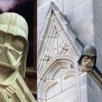 Creo que he visto a Darth Vader encaramado a la torre de la catedral