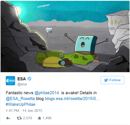 tweet-esa-philae-ha-despertado