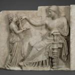 Estatua muestra un 'laptop' del siglo I antes de Cristo