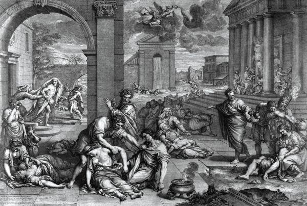 Plaga de Atenas
