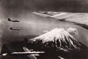 EE.UU. se planteó pintar el Monte Fuji en plena Segunda Guerra Mundial