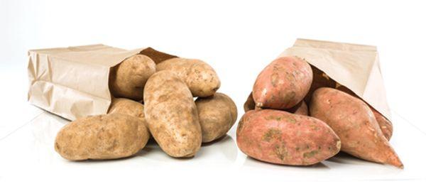 Patatas y batatas, he ahí el secreto