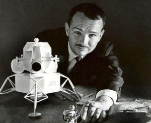 Eugene Shoemaker, el único hombre cuyos restos reposan en la luna
